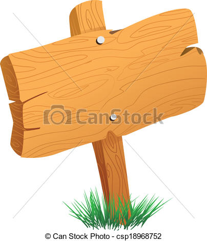 Wood clipart signboard Board Sign  Sign of