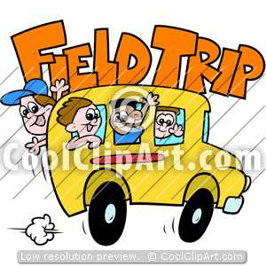 Word clipart field trip Field Trip  School Clipart