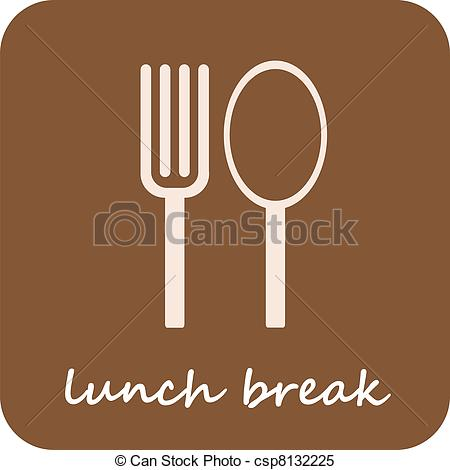 Cutlery clipart lunch Brown Lunch 523 on Lunch