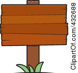 Planks clipart signage Clipart Blank Wood Sign Plank