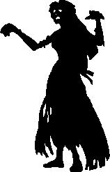 Zombie clipart silhouette Clip Download Silhouette Art