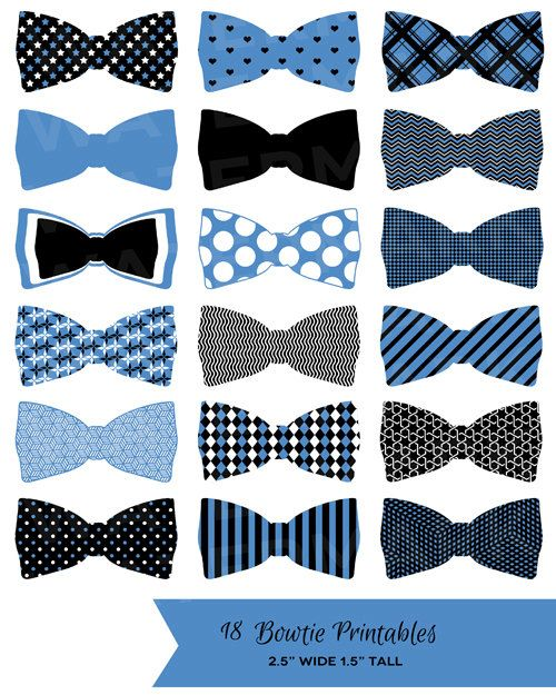 Dark Blue clipart bow tie 25+ Labels 18 Blue Tags