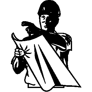 Silk clipart black and white White clipart People Download collection