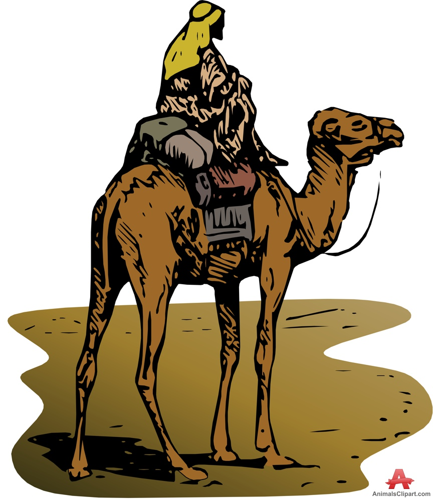 Camel Caravan clipart camel riding Clipart design 70 Arabian free