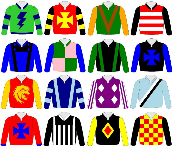Shirt clipart jockey  about jockey Cookies silks