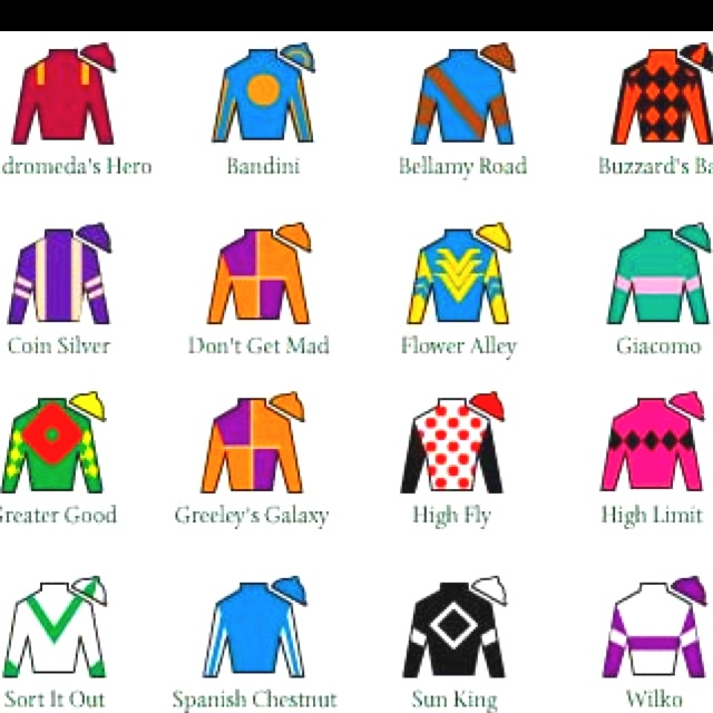 Shirt clipart jockey