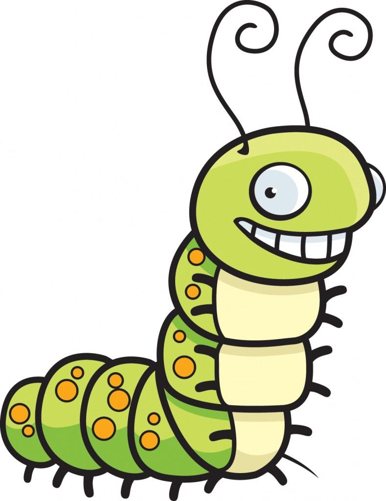 Caterpillar clipart silk #1