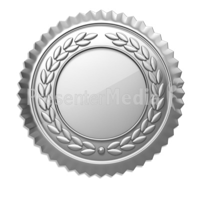 Silver clipart 2nd place medal Silver Download Clipart Seal Silver