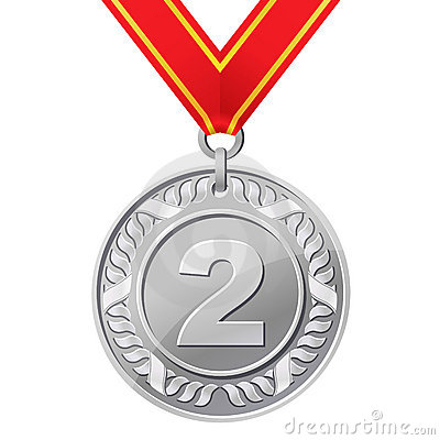 Silver clipart 2nd place medal Comments No 51allout thumb13534684 silver