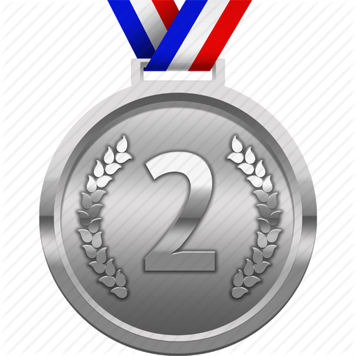 Silver clipart 2nd place medal Medal Images Transparent Silver PNG