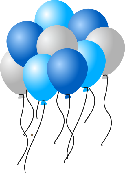 Silver clipart ballon Art com Download at Balloons2