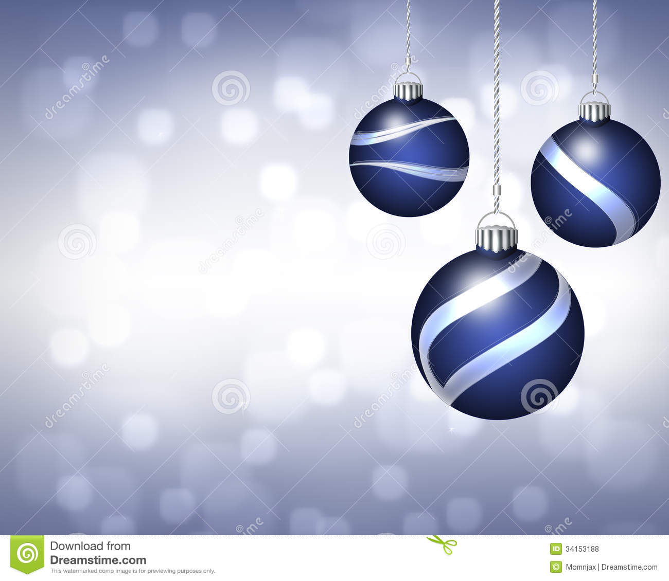 Silver clipart blue christmas Clipart clipart Silver blue blue