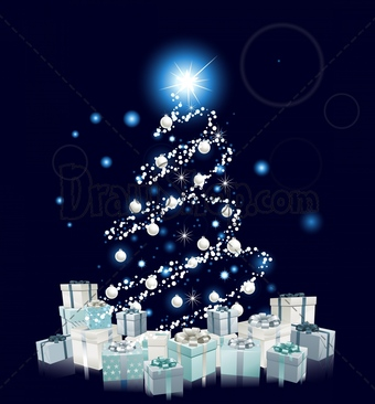 Silver clipart blue christmas Blue Silver Clipart Christmas Download