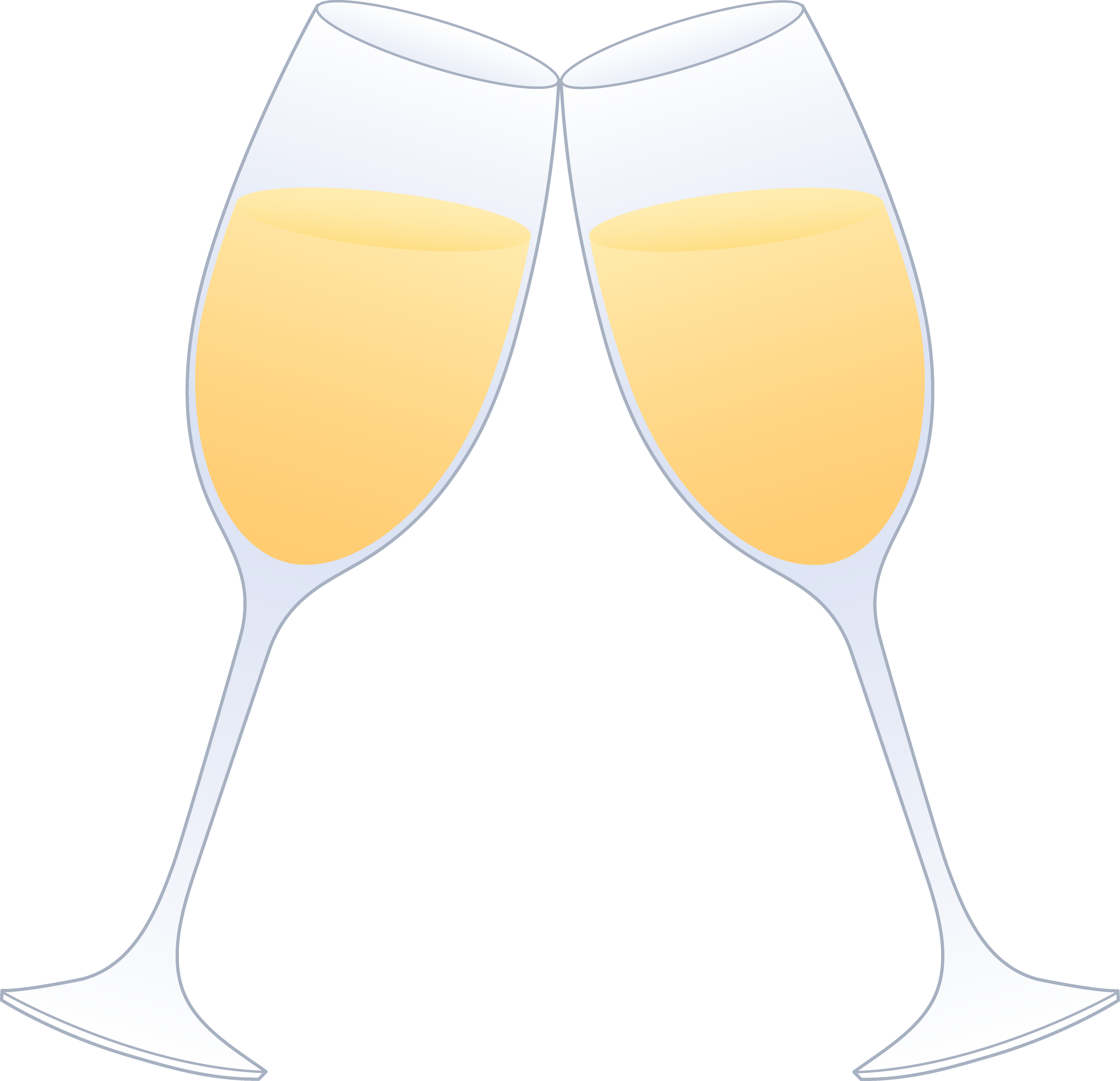 Party clipart champagne glass #11
