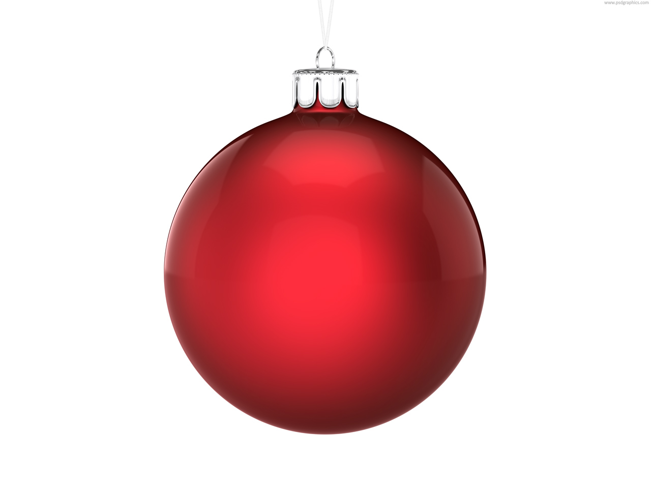 Sphere clipart red ball Ornament silver christmas ornaments Red