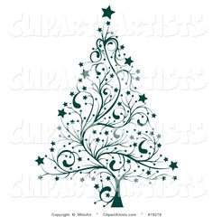 Christmas Tree clipart classy Christmas by Black Clip Free
