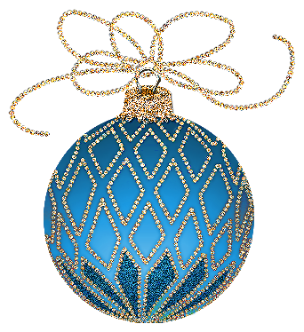 Poinsettia clipart blue Gold Ornament Sam and Find