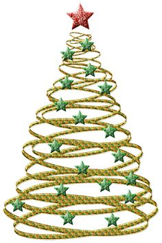 Silver clipart christmas tree Christmas Transparent Stars Gold Christmas