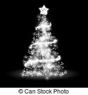 Silver clipart christmas tree Nice Christmas Christmas tree Illustrations