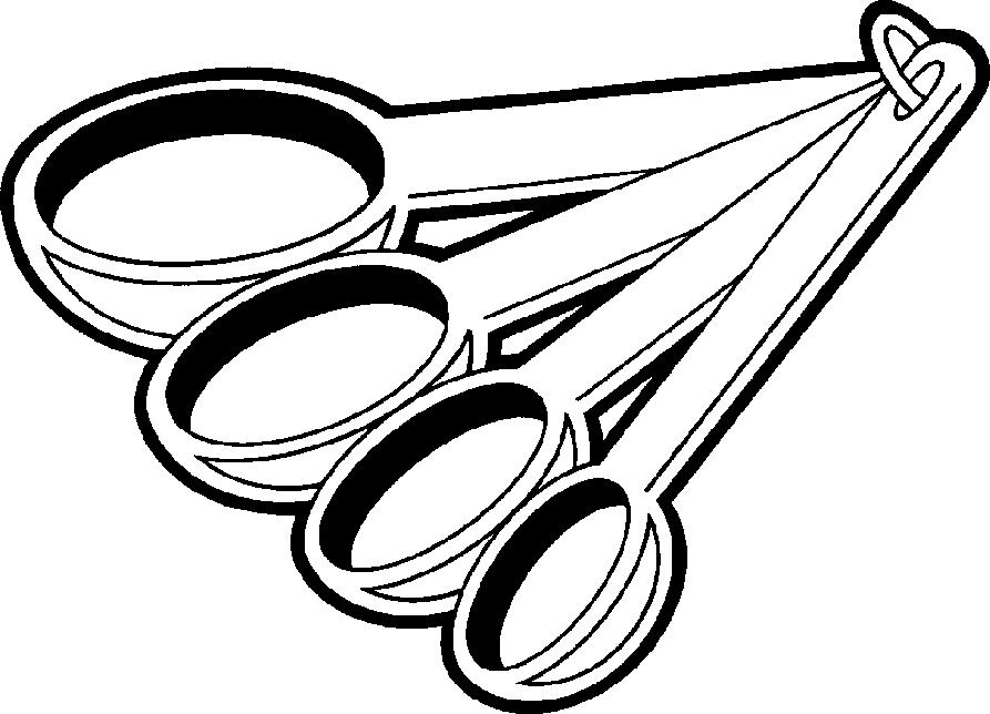 Silver clipart cooking spoon #wmq0lghv art clip measurement clipart
