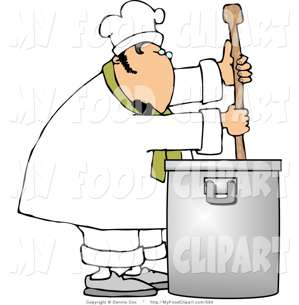 Silver clipart cooking spoon Of Pot Silver Royalty Stock