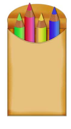 Pencil clipart eight And art articles Crayons crayons