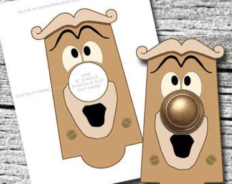 Silver clipart doorknob Wonderland Etsy Instant File knob