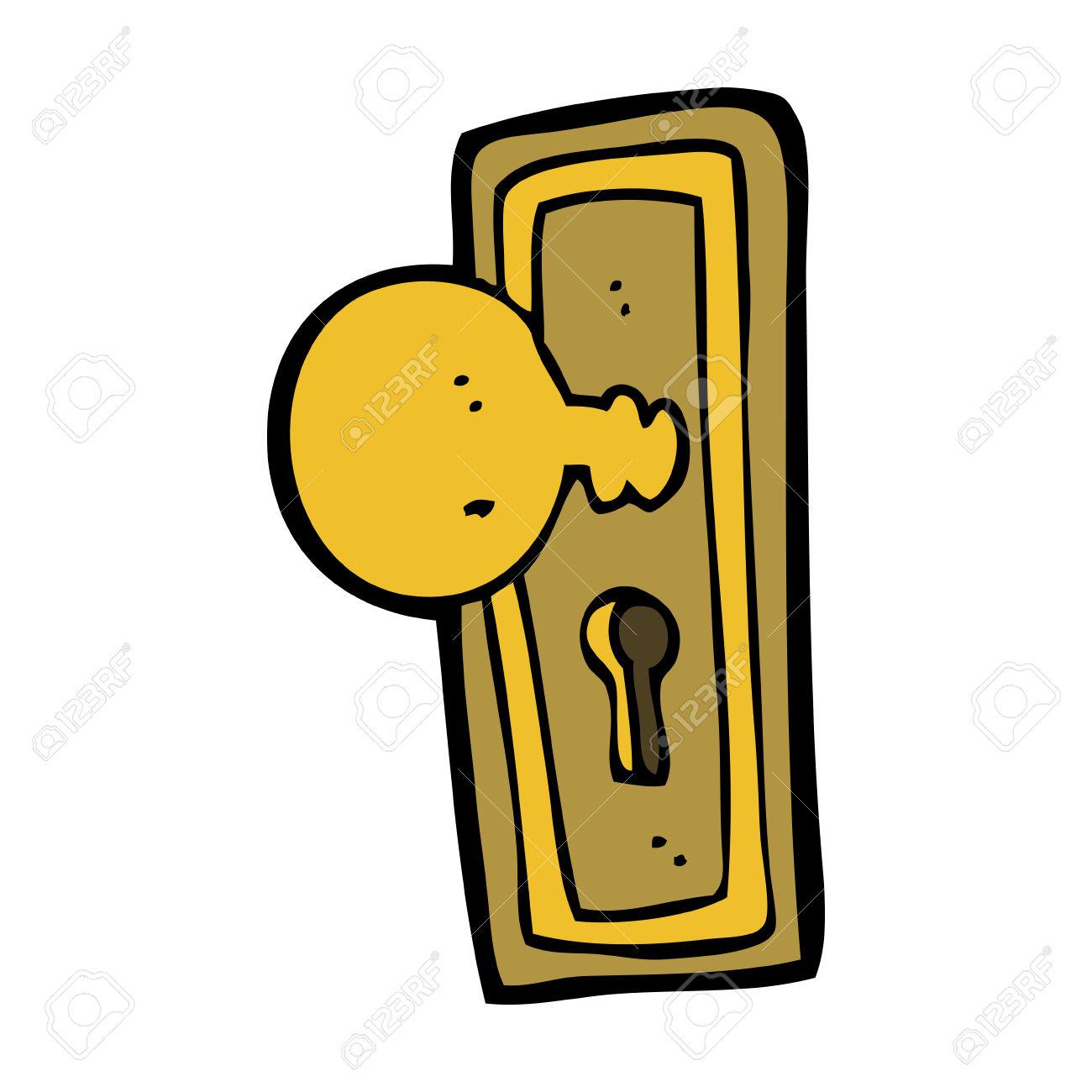 Silver clipart doorknob Clipart Clipart ~ Door 9183