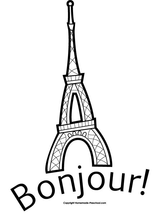 Silver clipart eiffel tower Clipart collection art tower cartoon