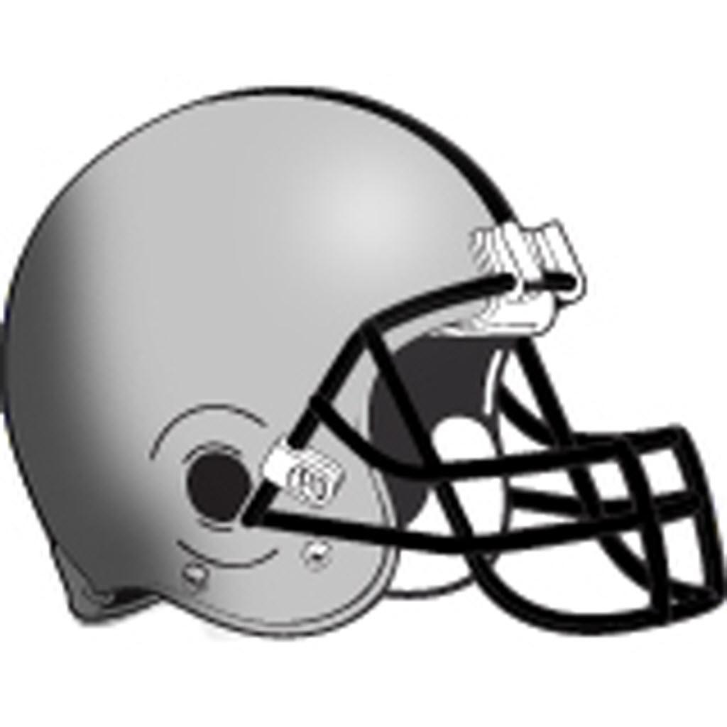 Silver clipart football helmet Image Clipartix helmet clip art