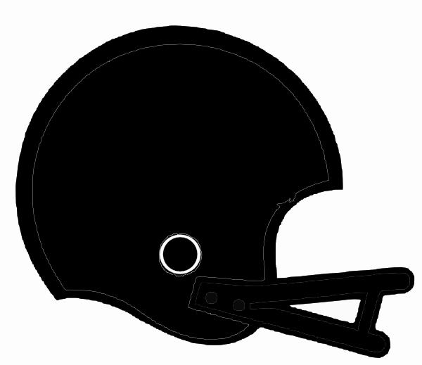 Silver clipart football helmet Helmet art vector this as: