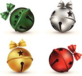 Silver clipart jingle bell 98 · Art Christmas Graphics