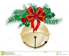 Necklace clipart jingle bell Art sleigh Bells bow bells