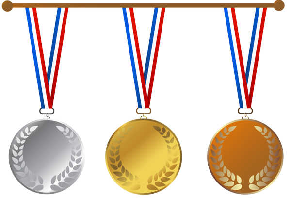Silver clipart many medal Clipart Medals Art of Clipart