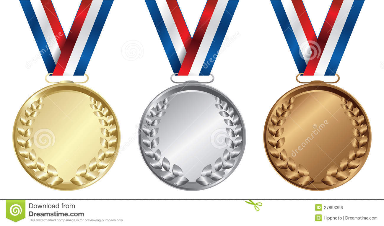 Silver clipart many medal Silver Gold Bronze Medal Download