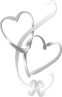 Silver clipart married ring Marriage Cliparts and Heart rings