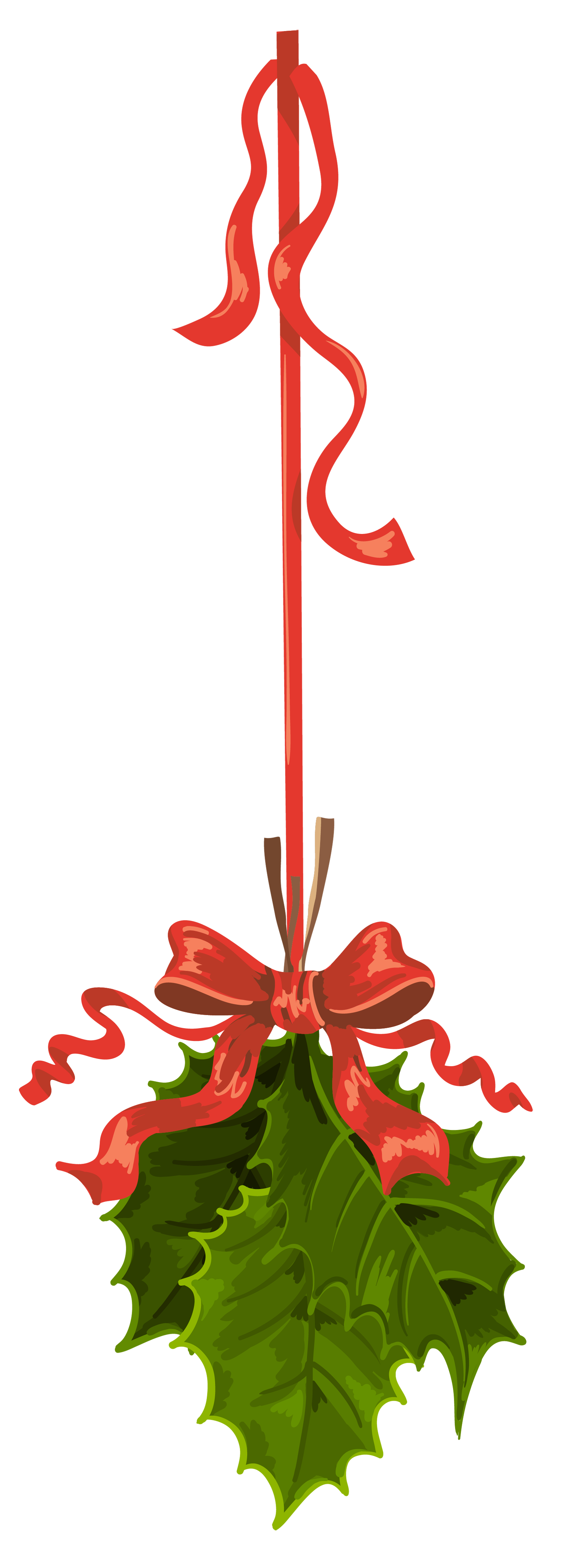 Silver clipart mistletoe Transparent full View  Gallery