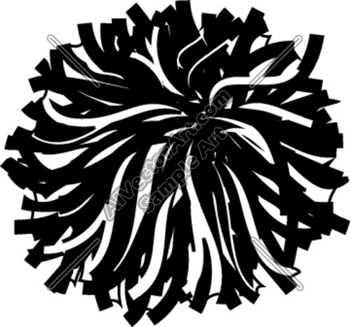 Club clipart pompom Cheerleading!!! Quoteko PomsClip black Pinterest