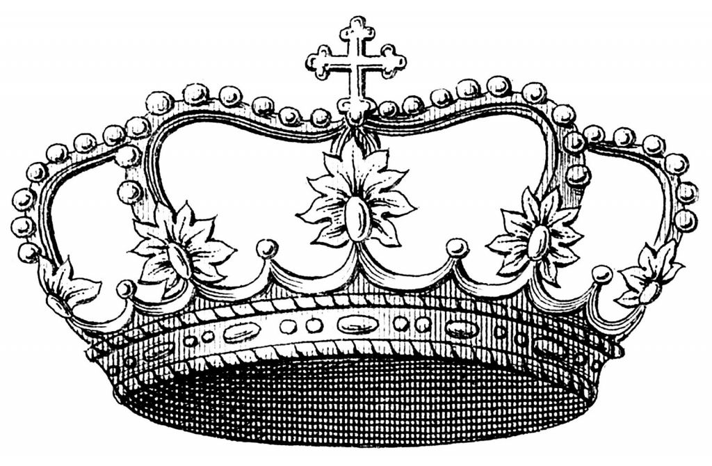 Silver clipart princess crown Design silver crown Princess clipart