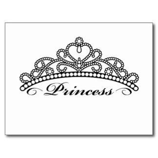 Silver clipart princess crown Art crowns postcards crown Tiara