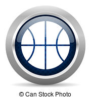 Silver clipart round object Icon Stock  glossy ball