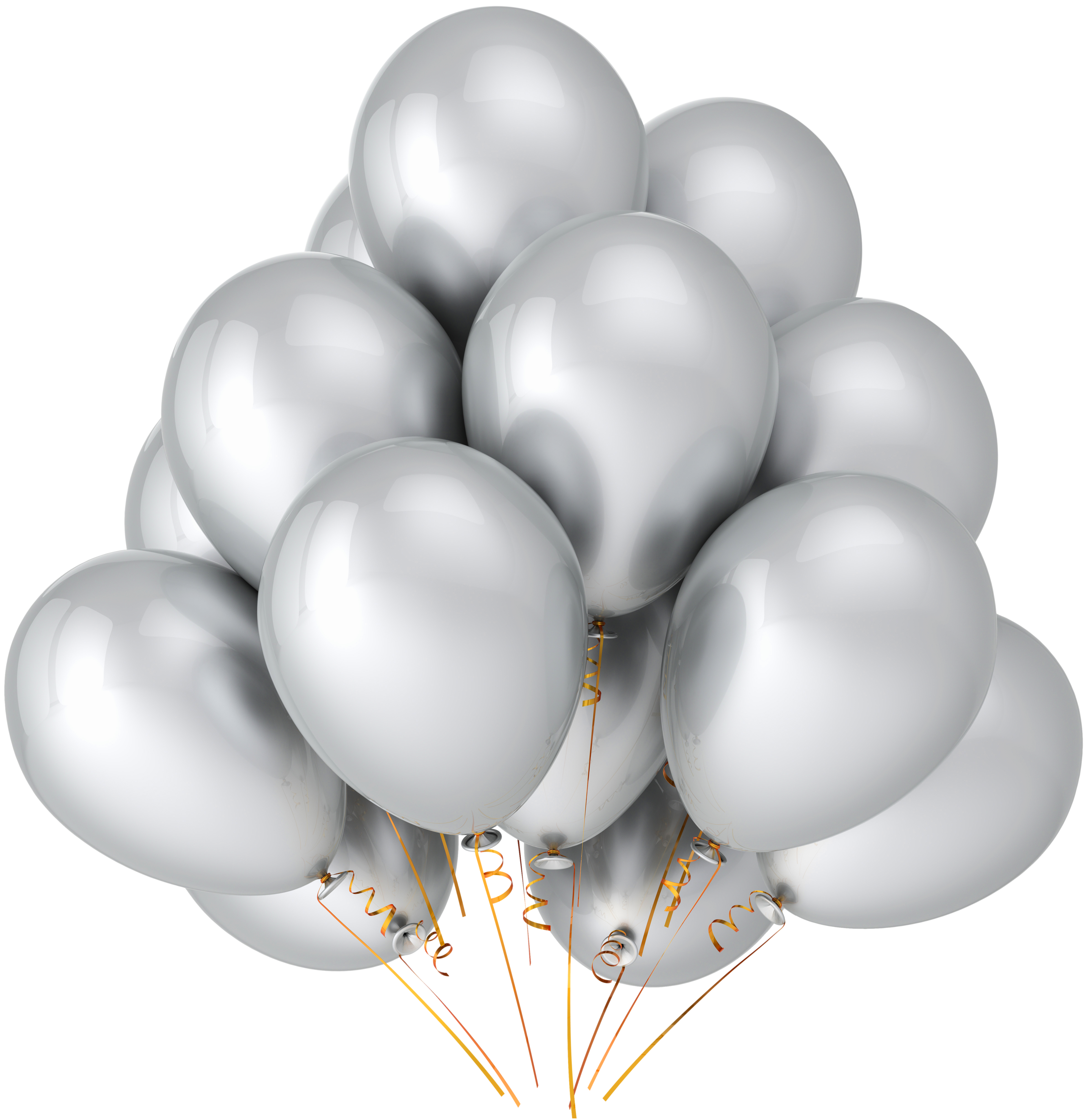 Silver clipart silver balloon For Yopriceville  free Silver
