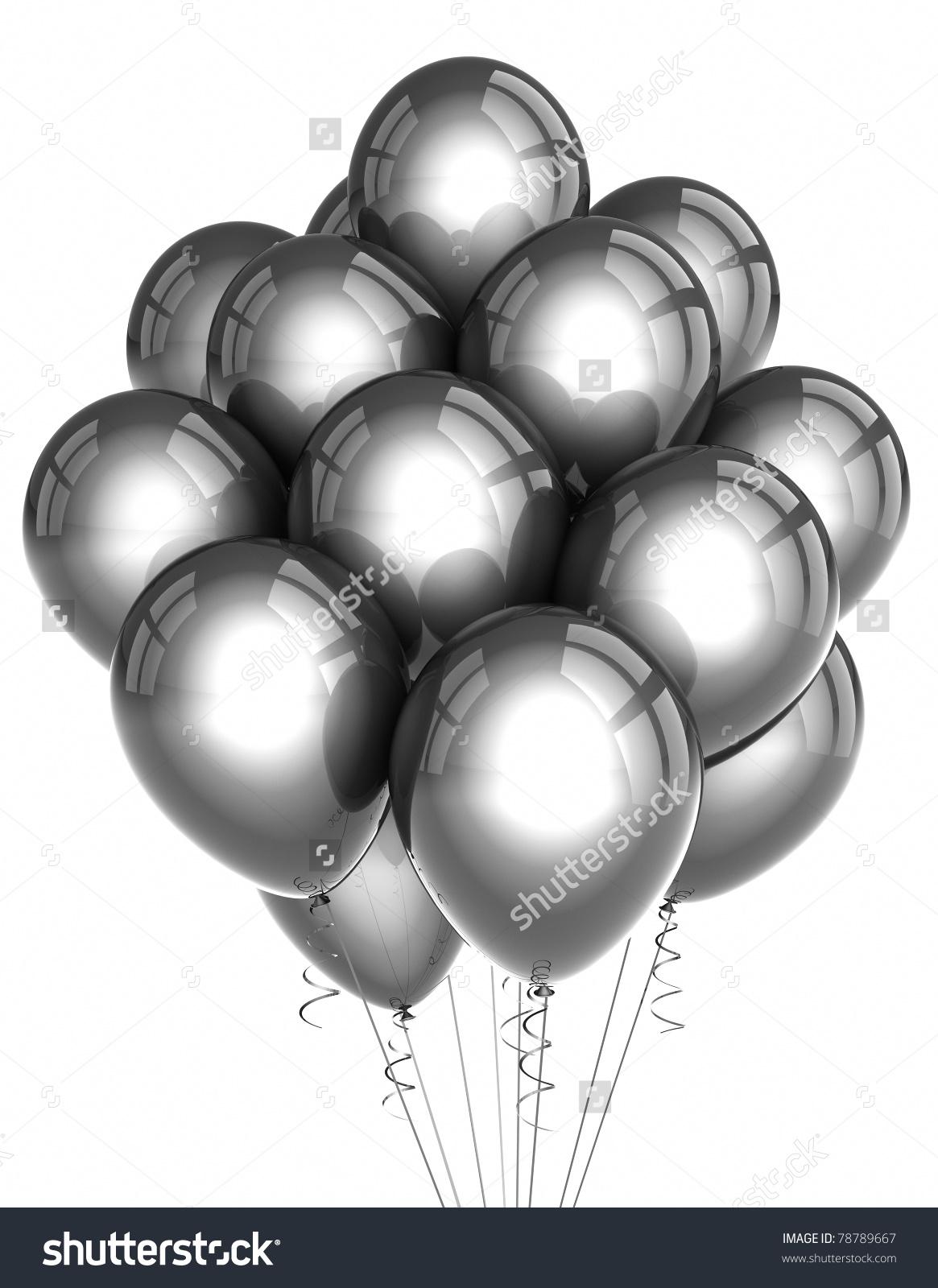 Silver clipart silver balloon Silver Silver #1136 Party Silver