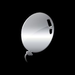 Silver clipart silver balloon Icon  Etc #027556 »