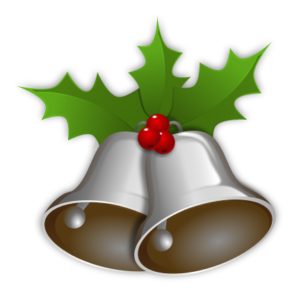 Silver clipart silver christmas Silver Bell Bells Clip Art