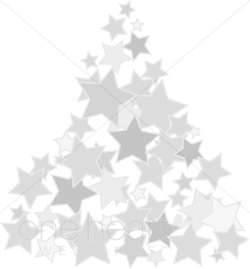Silver clipart silver christmas Tree Clipart Christmas Clipart Tree