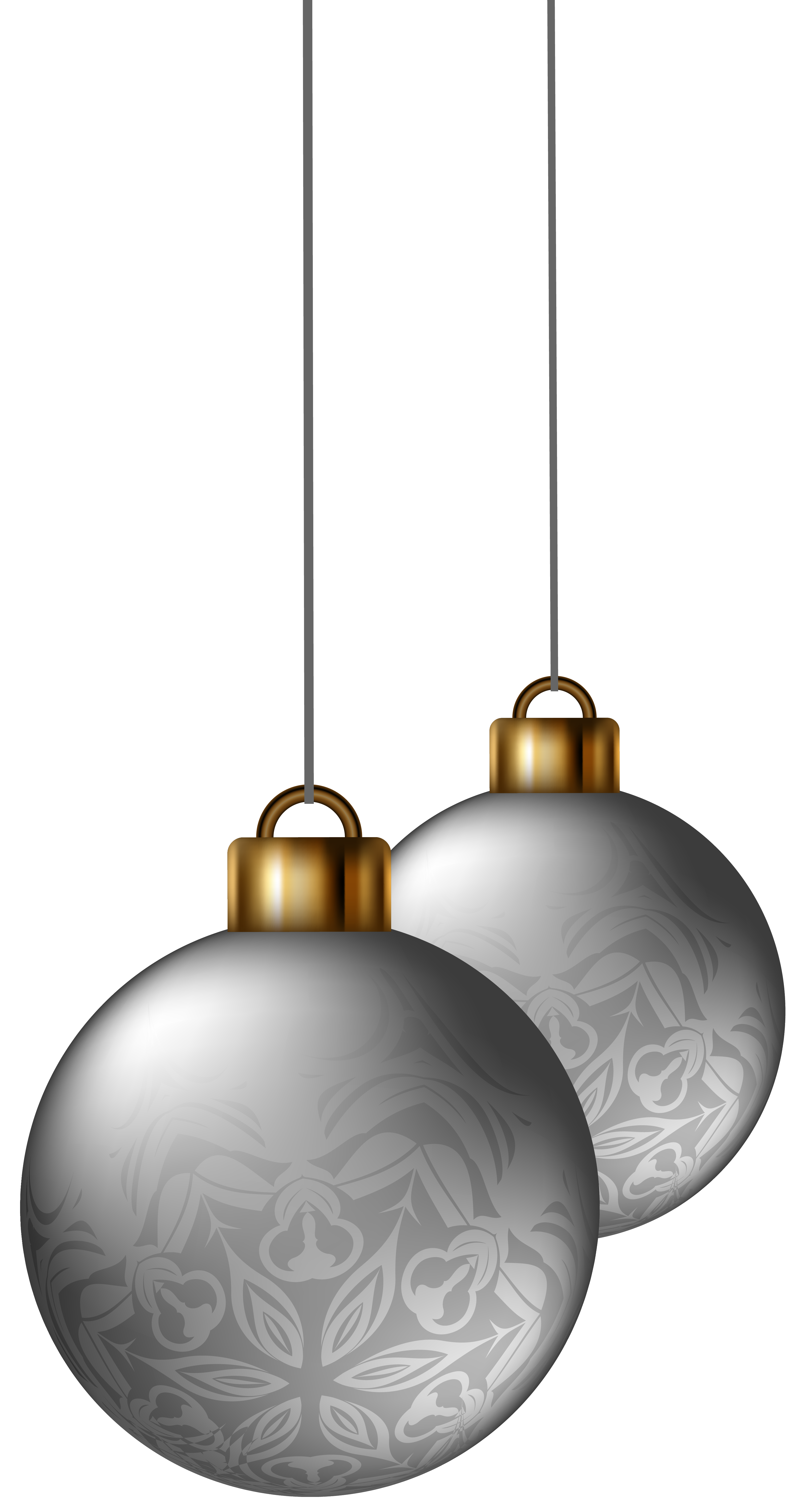 Silver clipart silver christmas Gallery size Christmas Image full