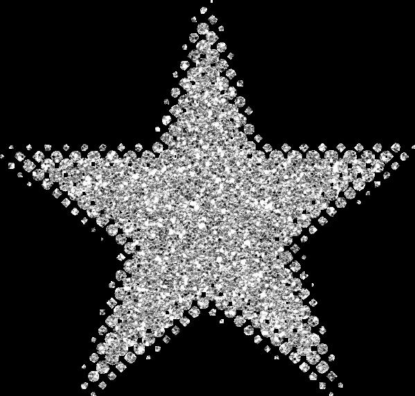 Silver clipart silver glitter star Star Glitter Cliparts glitter Silver