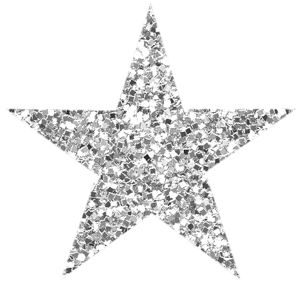 Silver clipart silver glitter star 290 about on png star2