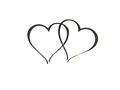 Bell clipart transparent background Seals Twin Heart 48 Wedding
